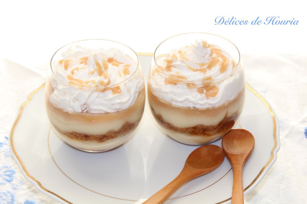Banoffee pie en verrine