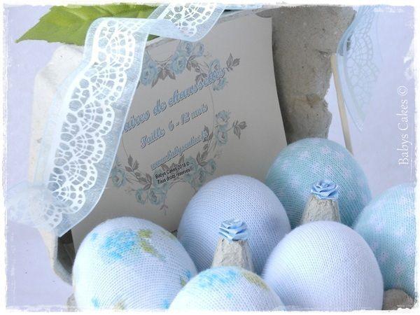Cadeau de naissance Breakfast eggs