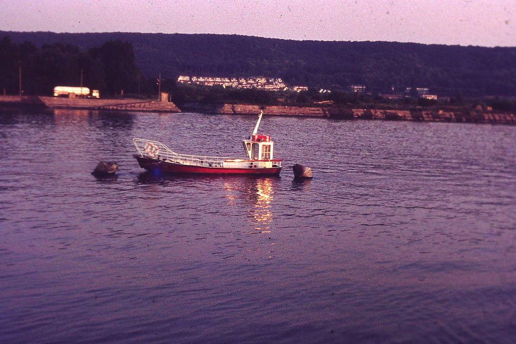le bac de Hautot sur Seine (la barque à Tintin)