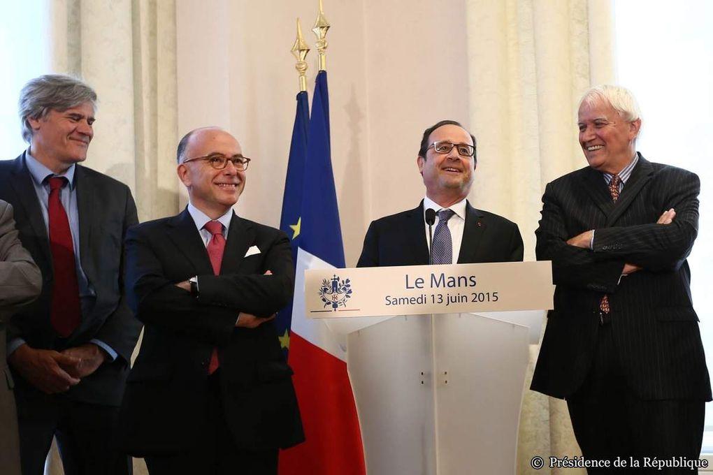 Retour sur la visite du Président François Hollande au Mans