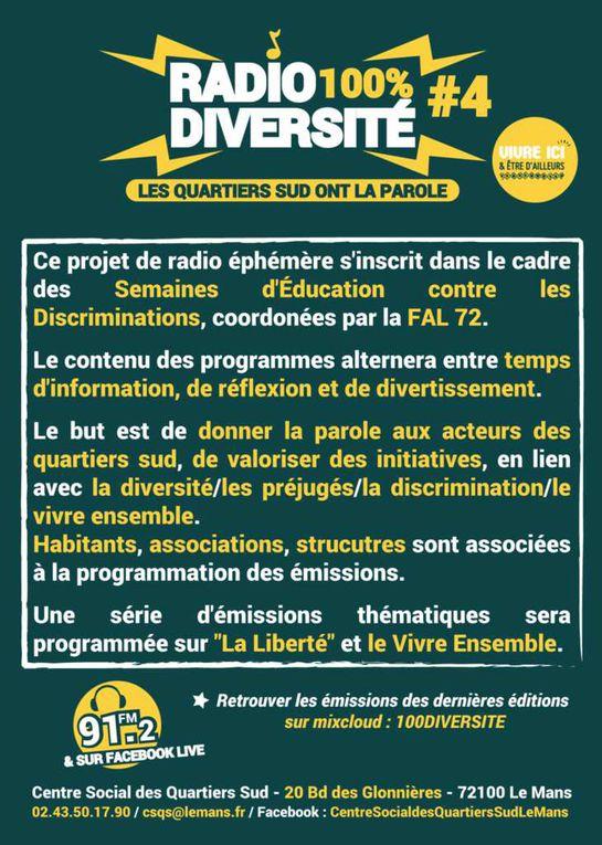 &quot&#x3B;Radio 100% diversité&quot&#x3B; - Les Quartiers Sud ont la parole