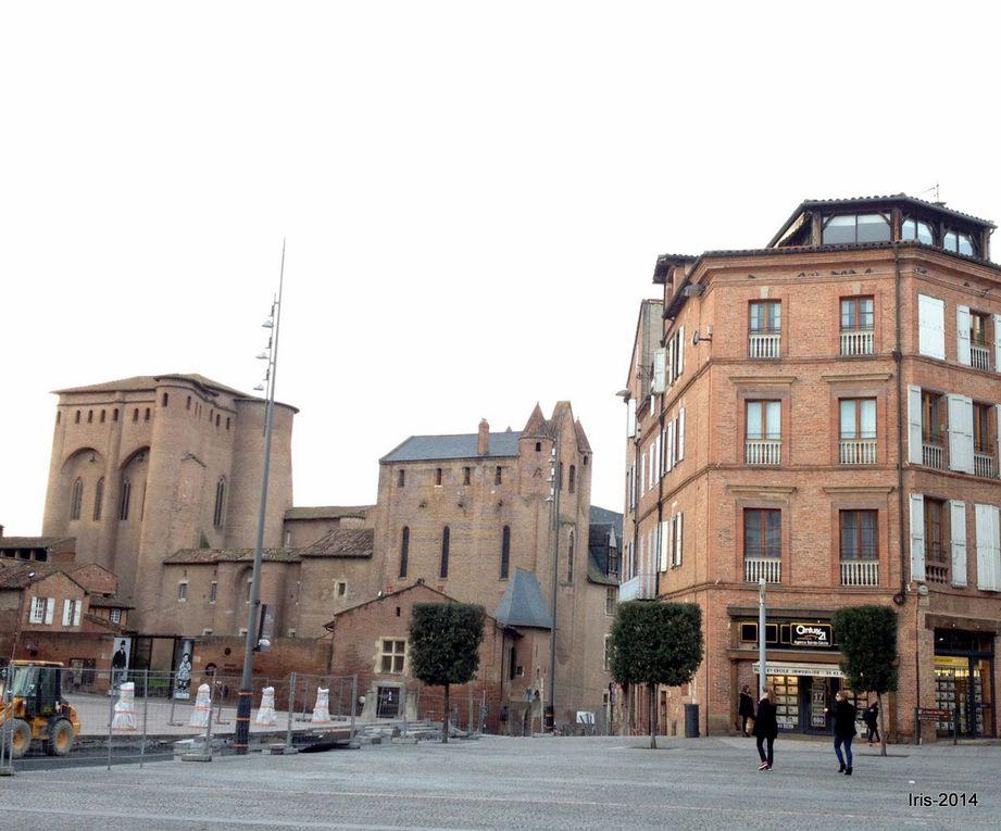 Ballade à Albi : Palais de la Berbie et Cathédrale Sainte Cécile