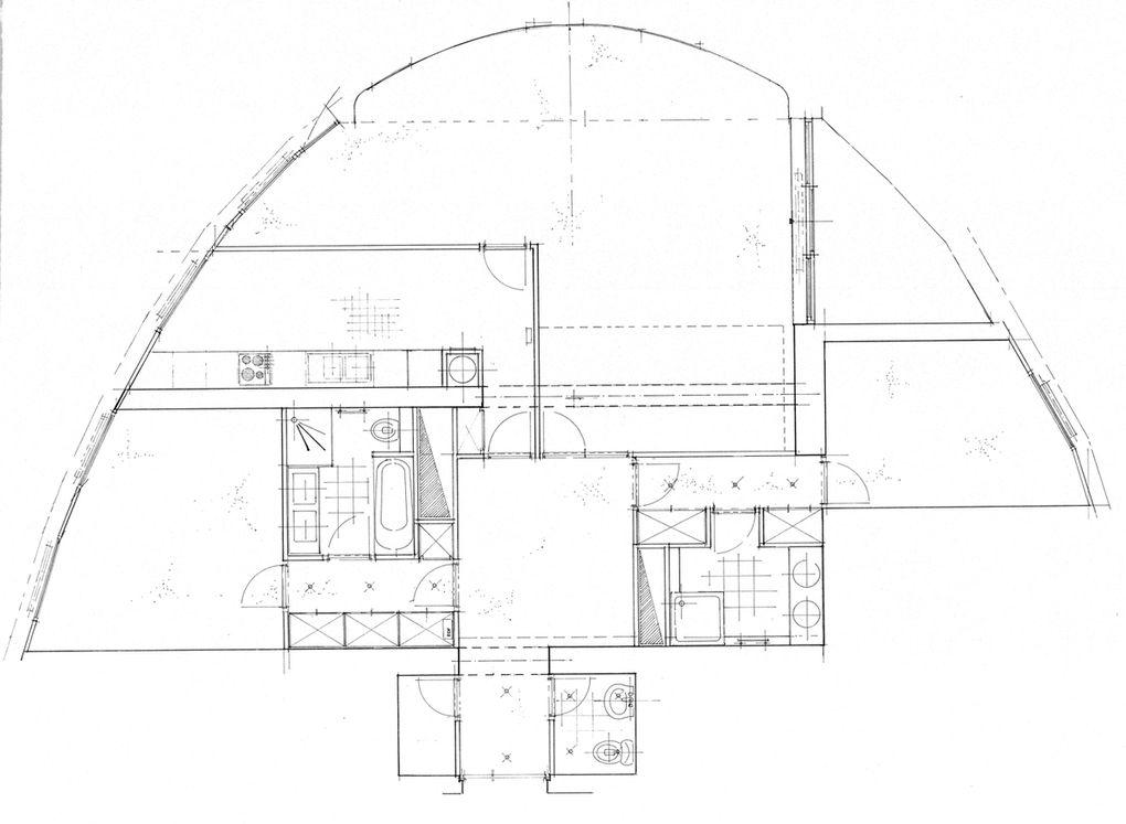 10 em etage de la Tour de France (concept d'architecte d'intérieur)