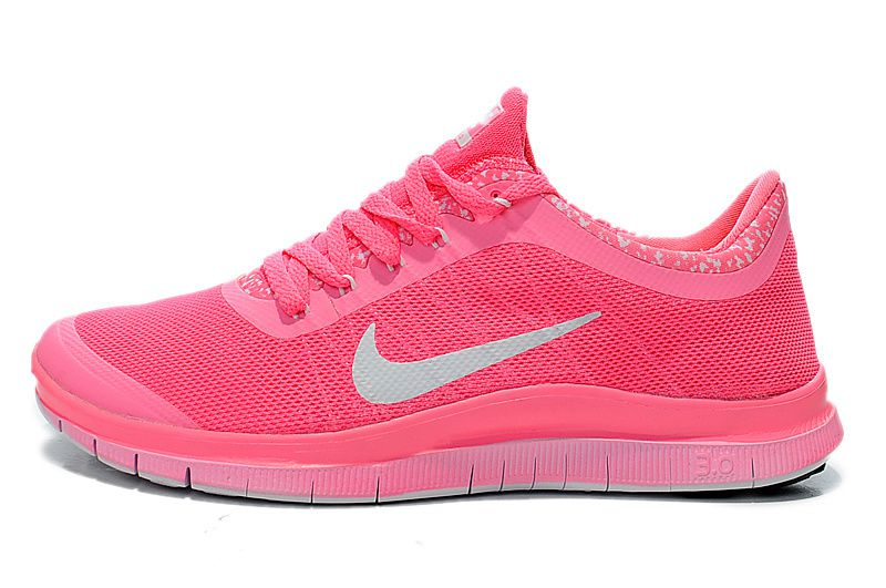 Nike Free Run Rose-fluo/Corail