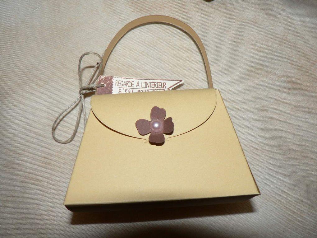 Mini sac à main stampin up/little purse