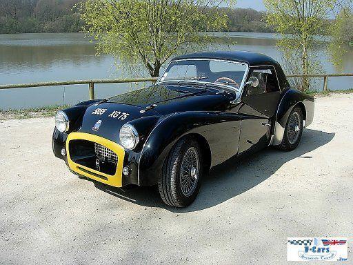 triumph tr3 a vendre triumph tr3 voitures de collection a vendre a e r tr3a 1959 vendre slg. Black Bedroom Furniture Sets. Home Design Ideas