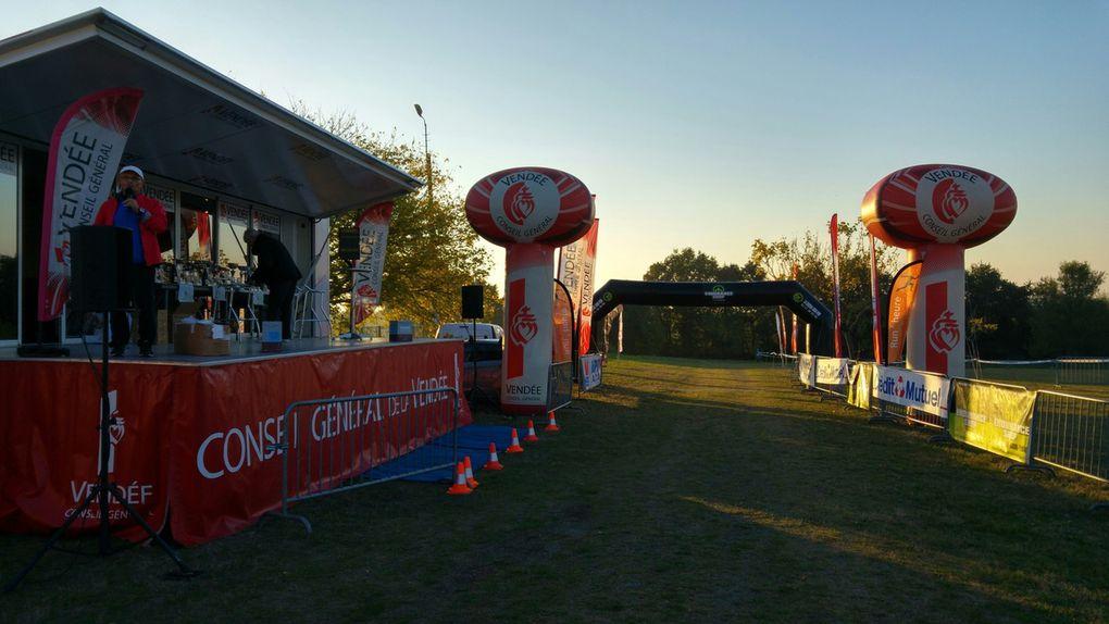 Résultats 10, 15 et 30 km Trail de La Vallée de l'Yon 2016