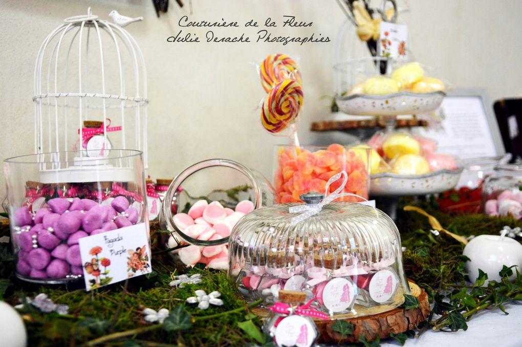 Mariage Conte de Fées | Candy Bar féerique | Fleuriste mariage Couvent des Carmes