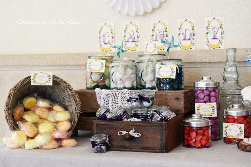 Détails Candy Bar vintage