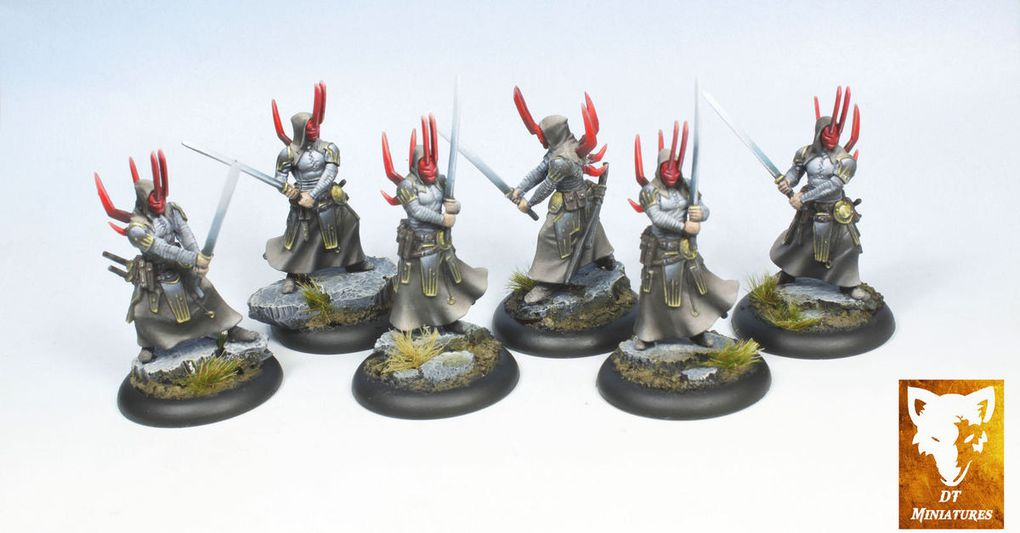 Commission: Nasier Wrath of Kings,Honor and Treachery: The Battle of Ravenwood, Cool Mini or Not