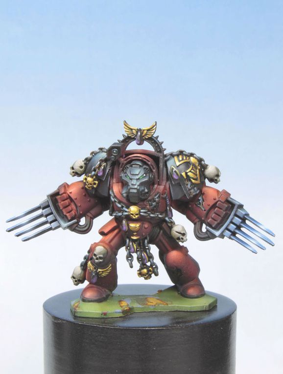 Commission work: Blood angel Space Hulk