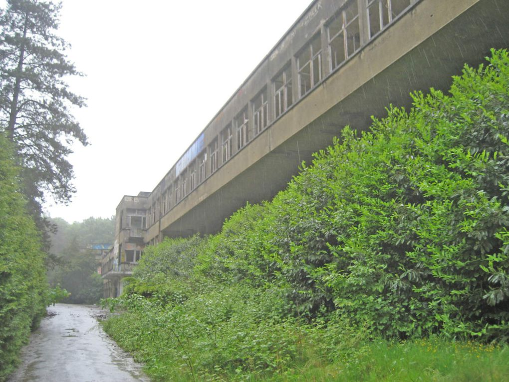 Reportage photo du Sanatorium d'Aincourt.