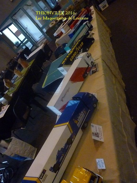 EXPOSITION MAQUETTES - THIONVILLE 2016 -