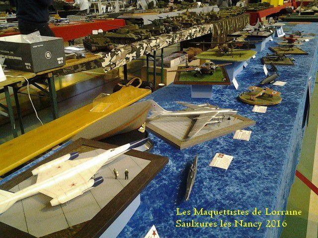 Exposition a SAULXURES LES NANCY -  2016 - 1 ère partie -