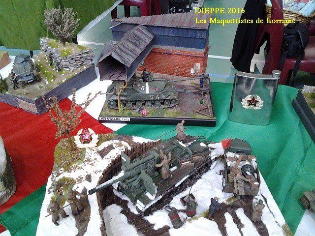 EXPOSITION de DIEPPE 2016  - partie 1 -