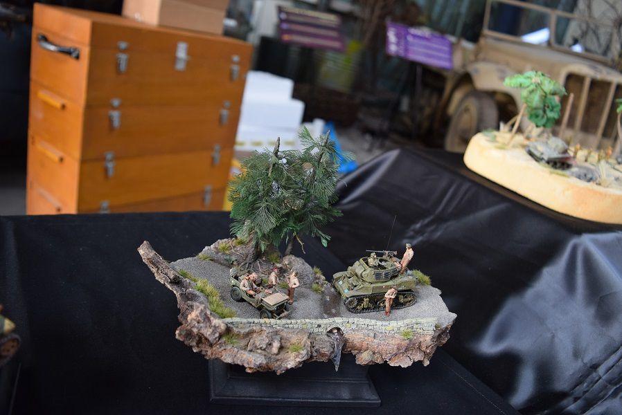 EXPOSITION de SAUMUR 2017 - LES DIORAMAS