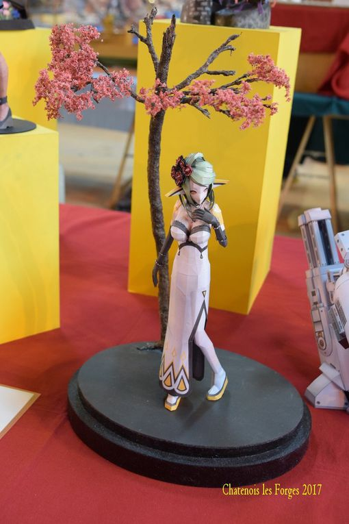 EXPOSITION de CHATENOIS LES FORGES 2017 -  LES FIGURINES  -