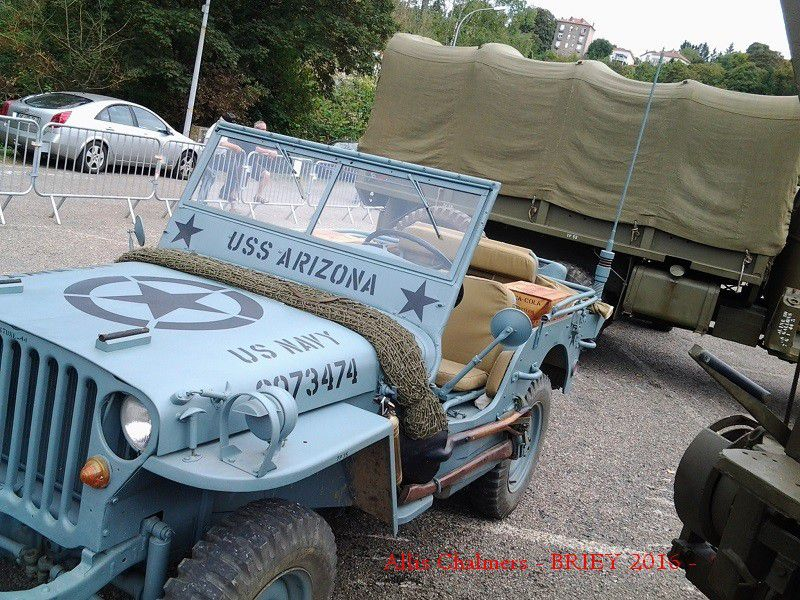 GI' s et CAMIONS MILITAIRES - BRIEY 2016