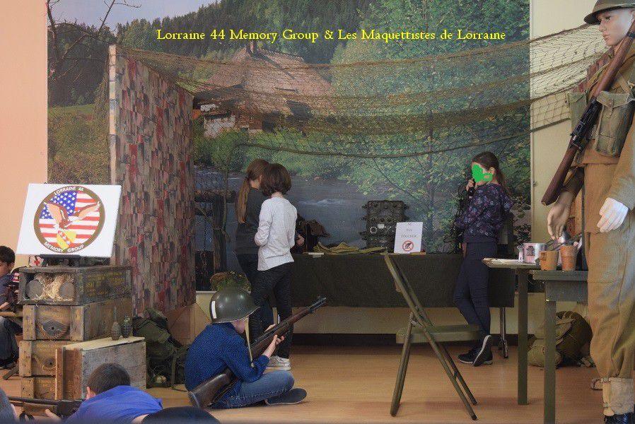 LORRAINE 44 MEMORY GROUP &amp&#x3B; Les MAQUETTISTES  de LORRAINE  - Devoir de MEMOIRE -