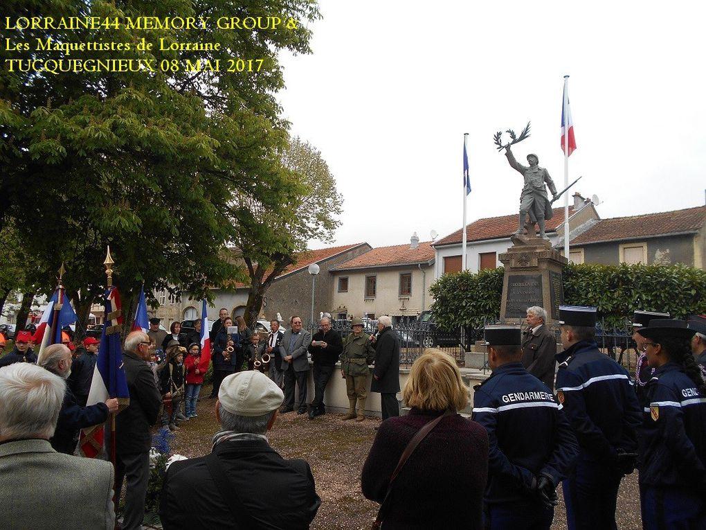 Commemoration TUCQUEGNIEUX 2017
