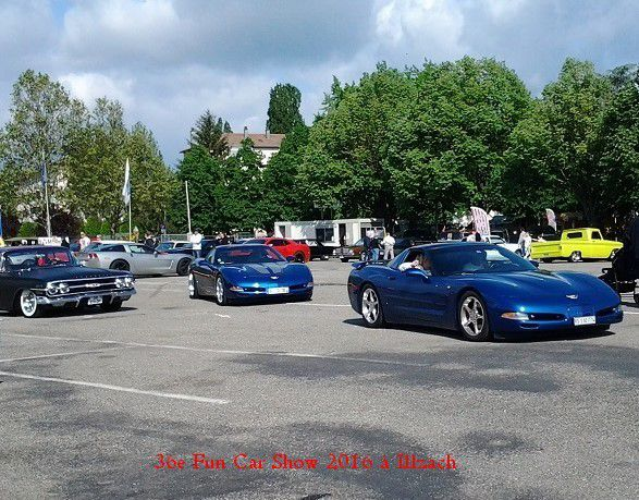 36e Fun Car Show 2016 à Illzach - Voitures -