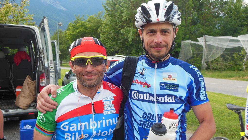 Les Vosgiens dans les Alpes