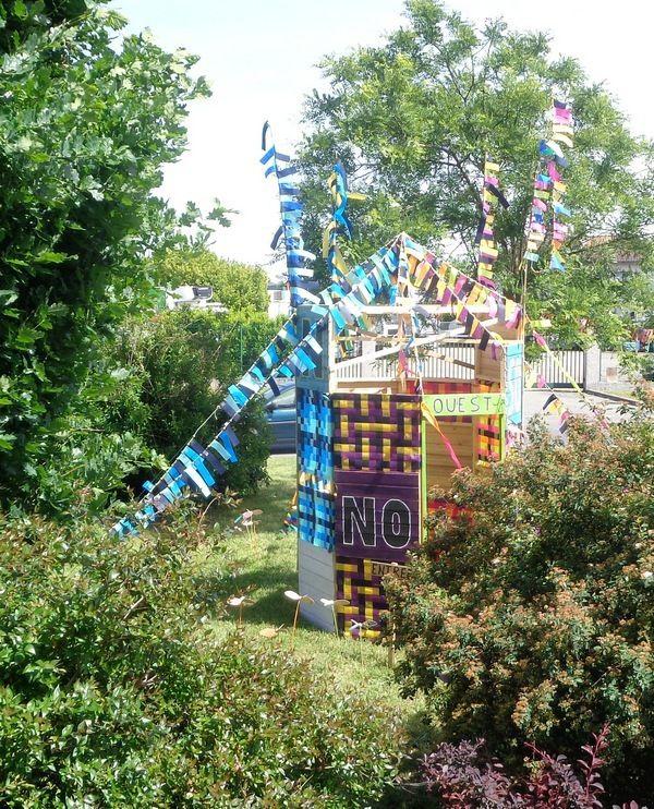 Maquette géante de la &quot&#x3B;Tour des vents&quot&#x3B; - St Alban