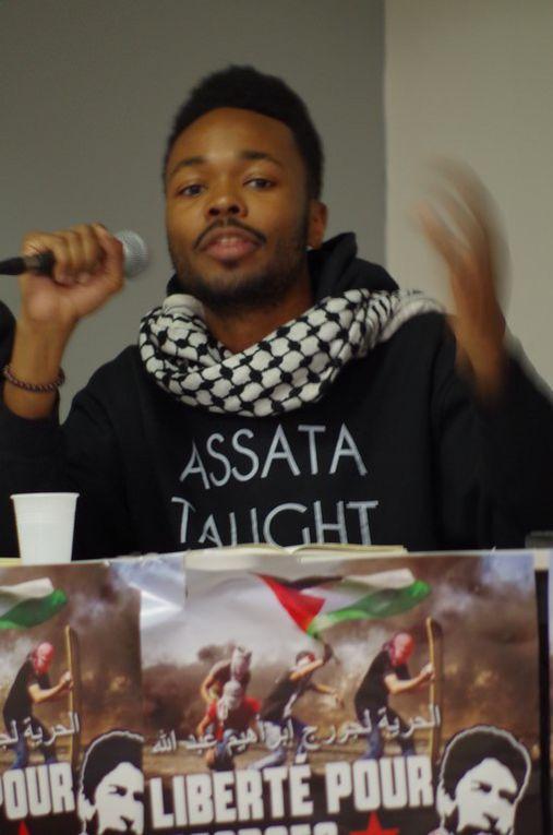 Photos du meeting du CICP-Paris du 10 mars 2016 organisé par la Campagne Unitaire (IDF) pour la Libération de Georges Ibrahim Abdallah.