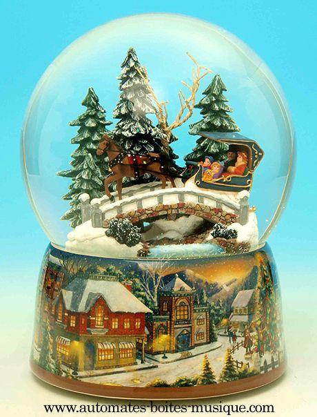 Automates et boîtes à musique de Noël