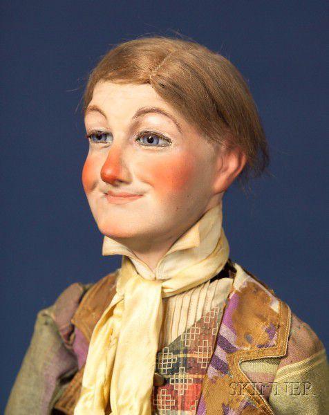 Différents automates représentant le clown Little Tich : versions Roullet-Decamps et Bertchinger.