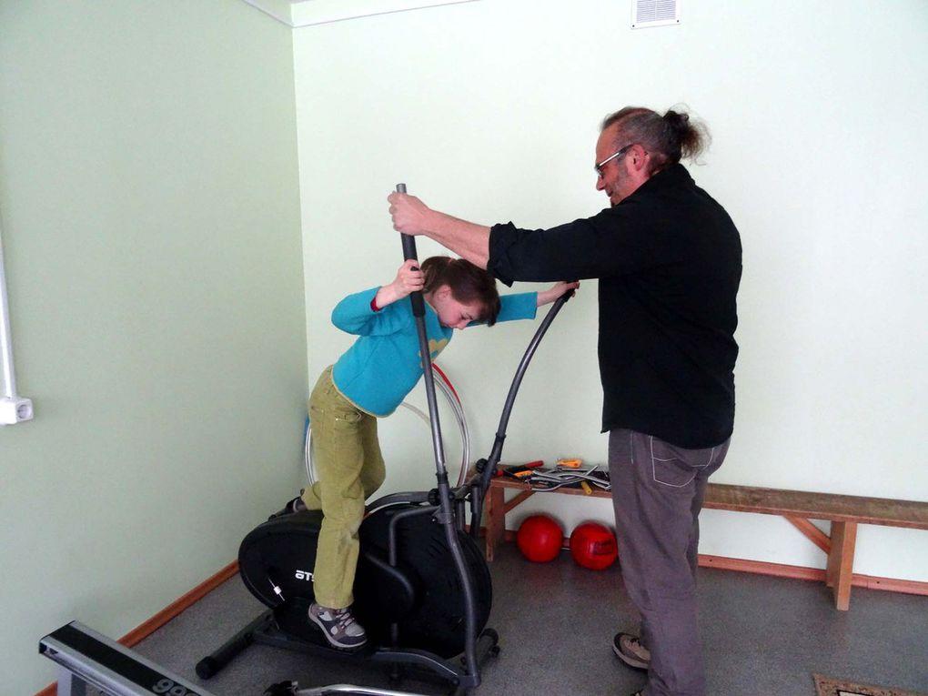 Visite d'un internat pour jeunes handicapés