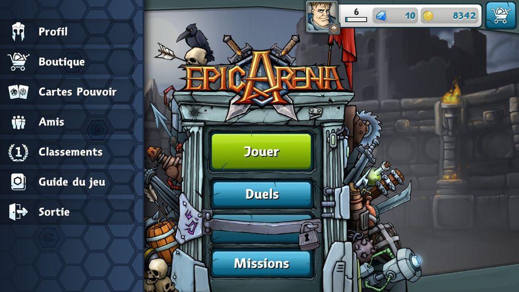 EPIC ARENA - Combats acharnés au pays des hexagones!