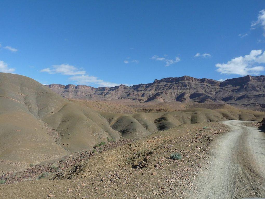 La vallée du Draa vers Zagora.