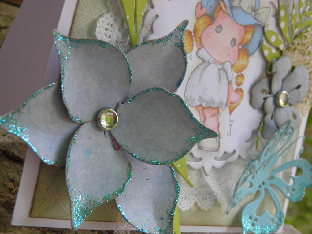Carte magnolia sans texte...VENDUE
