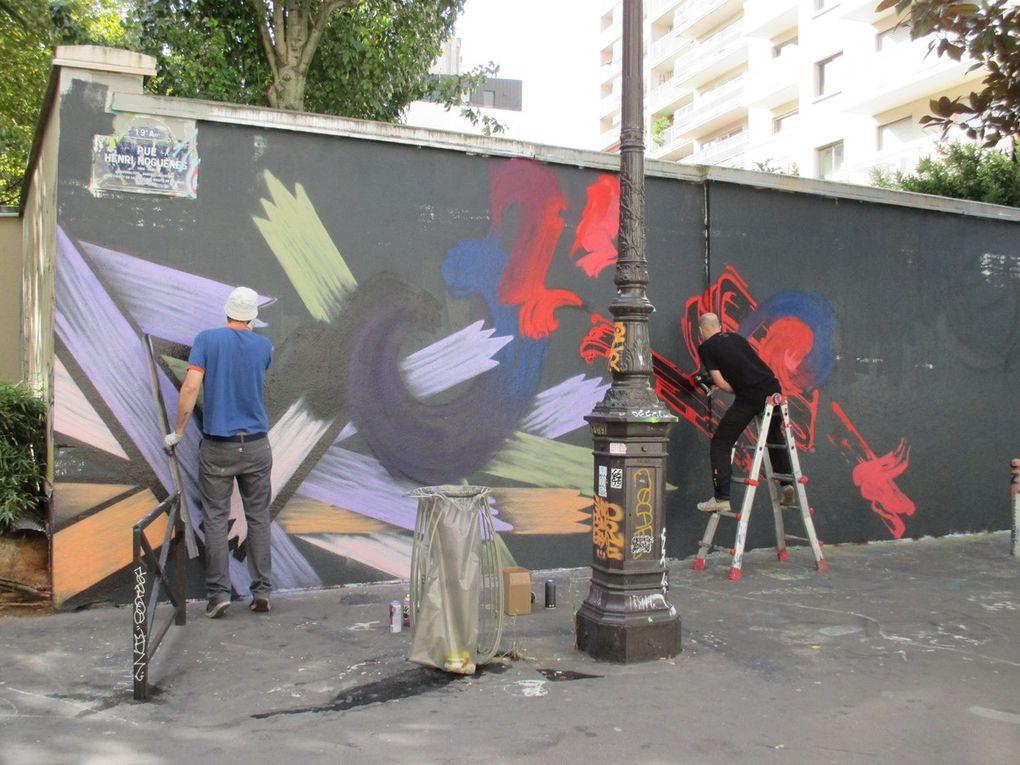 Rue Henri Noguères - Paris 19e