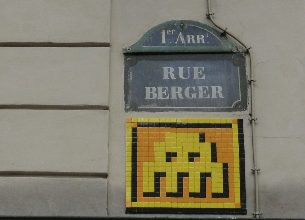 Invader - Paris 1e et 13e