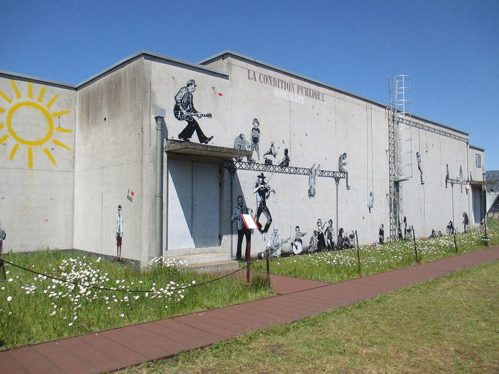 Jef Aérosol à la Condition Publique à Roubaix