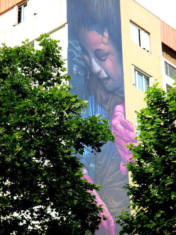 BomK, boulevard Vincent Auriol à Paris