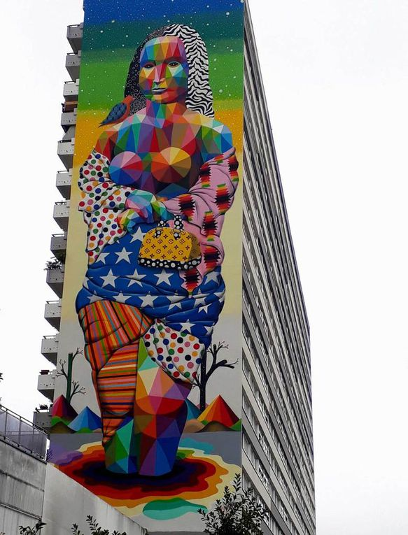 La Joconde de Okuda - Paris 13e