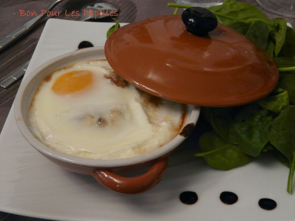 Oeuf Cocotte au hareng