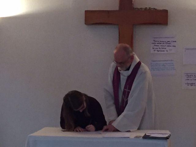 Premier pas vers le baptême