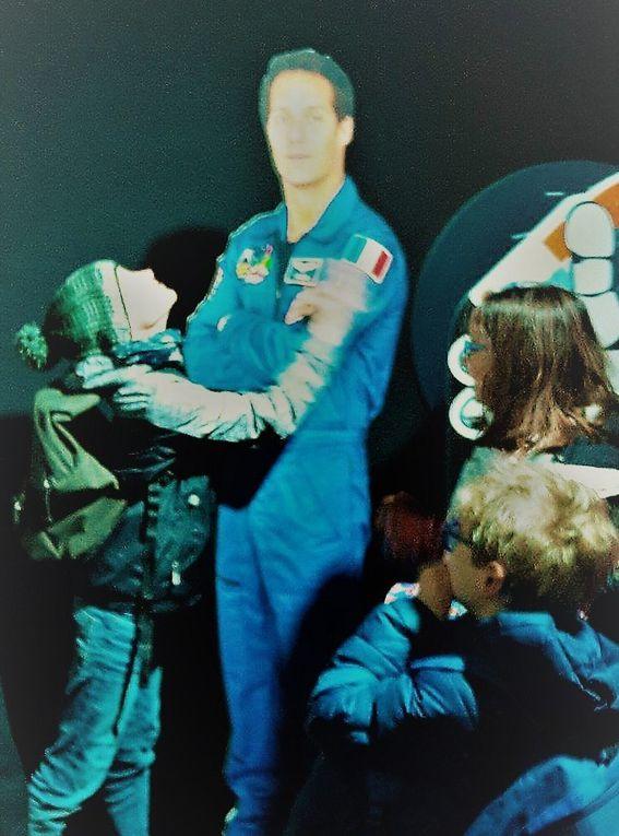 Les CM1 Les Perséides &quot&#x3B;à bord de L' ISS&quot&#x3B; avec Thomas Pesquet !