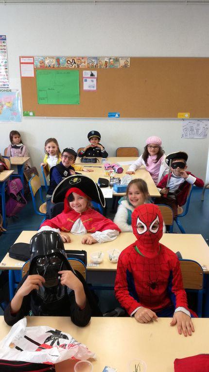 Carnaval à l'école pour les CP Lalanne