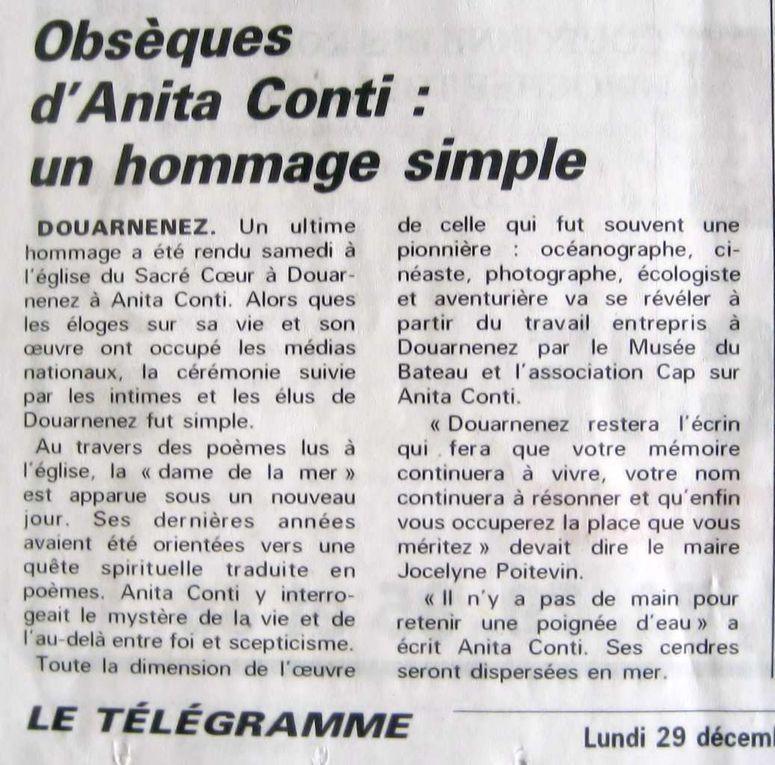 Articles parus sur « Ouest-France » et sur le  « Télégramme » du 29 décembre 1997.