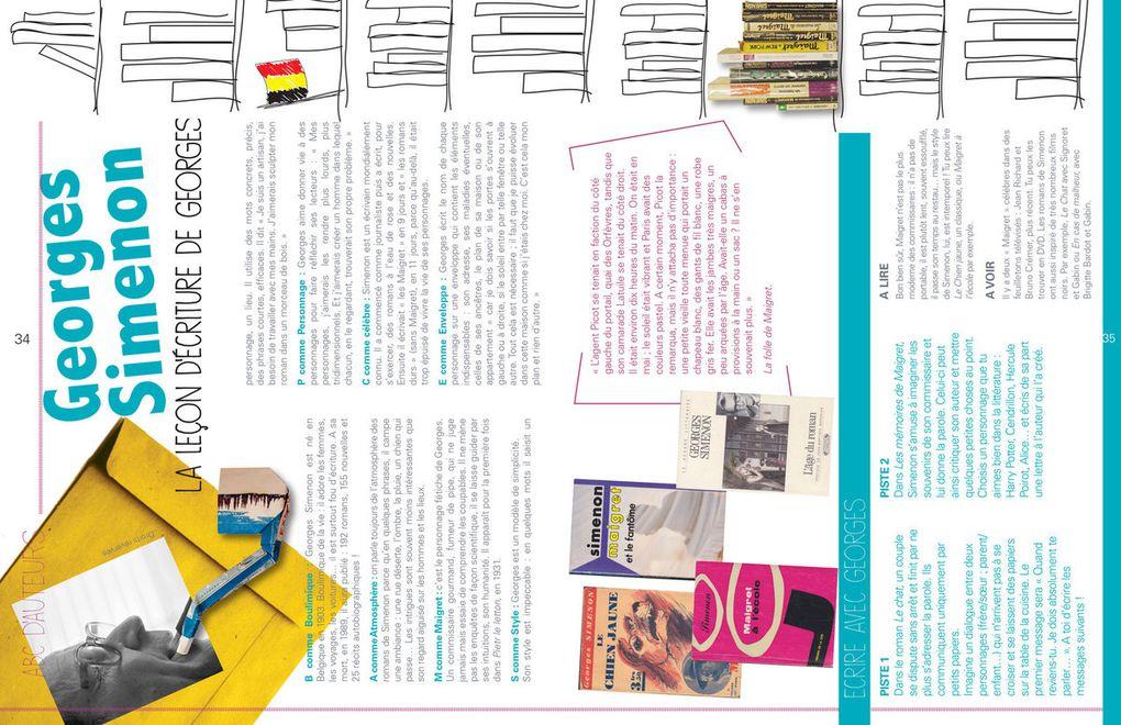 Quelques pages de l'atelier d'écritérature