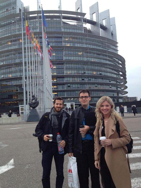 Young Canadian journalists tour EU institutions. Credits: EU