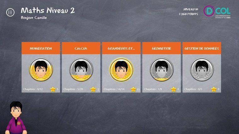 DCOL l'accompagnement personnalisé interactif personnalisé pour les élèves de sixième et de CM2 en difficulté