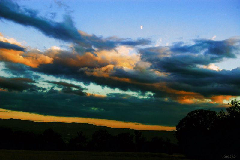 Le soleil a rendez vous avec la Lune