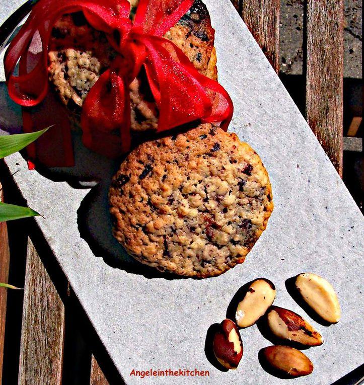 Cookies Banane-Noix du Brésil-Pépites de chocolat