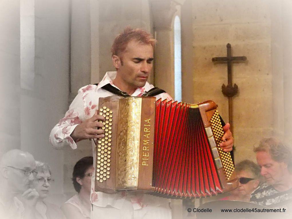 Bec de Cha en concert à l' Oratoire carolingien de Germigny Des Prés